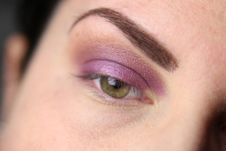 Ultra Violet Smokey Eyes - Schritt 3