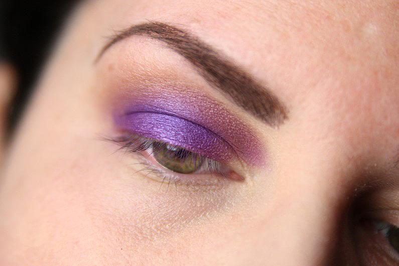 Ultra Violet Smokey Eyes - Schritt 4