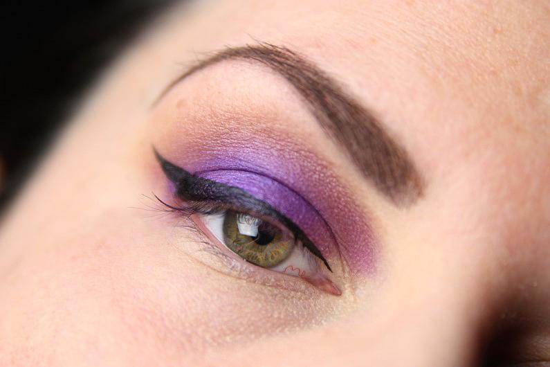 Ultra Violet Smokey Eyes - Schritt 5