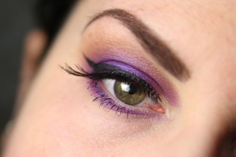 Ultra Violet Smokey Eyes - Schritt 8