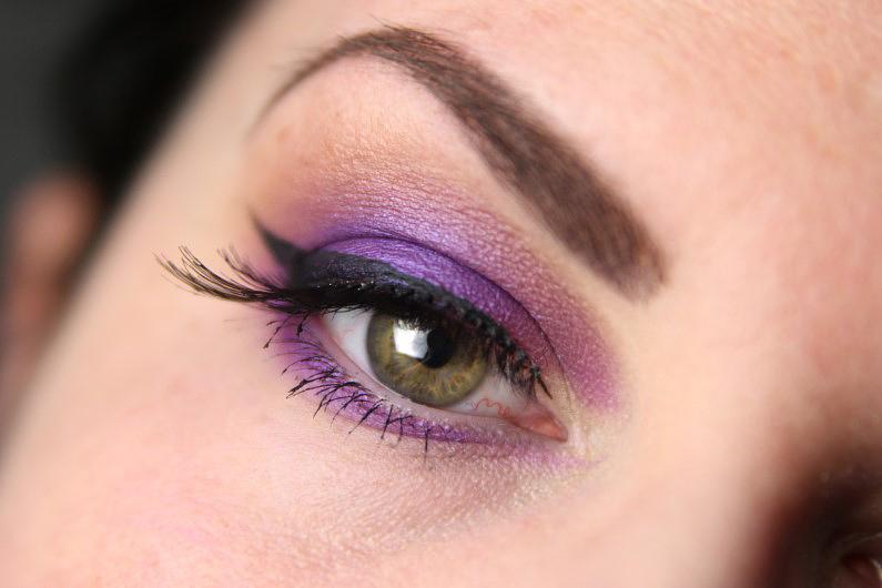 Ultra Violet Smokey Eyes - Fertig 2