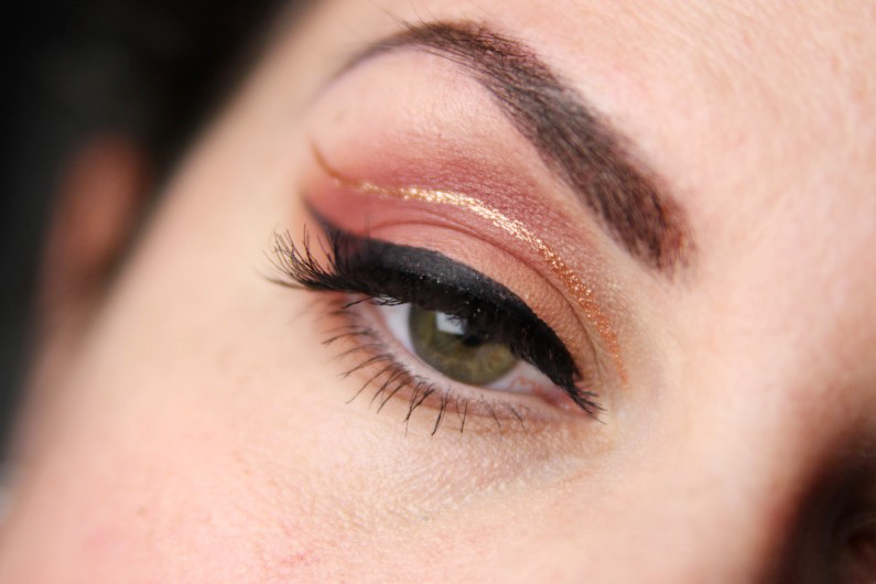 Metallic Cut Crease - Schritt 7b
