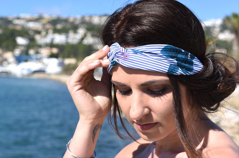 Festivalfrisur mit Haarband