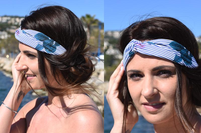 Festivalfrisur mit Haarband 2