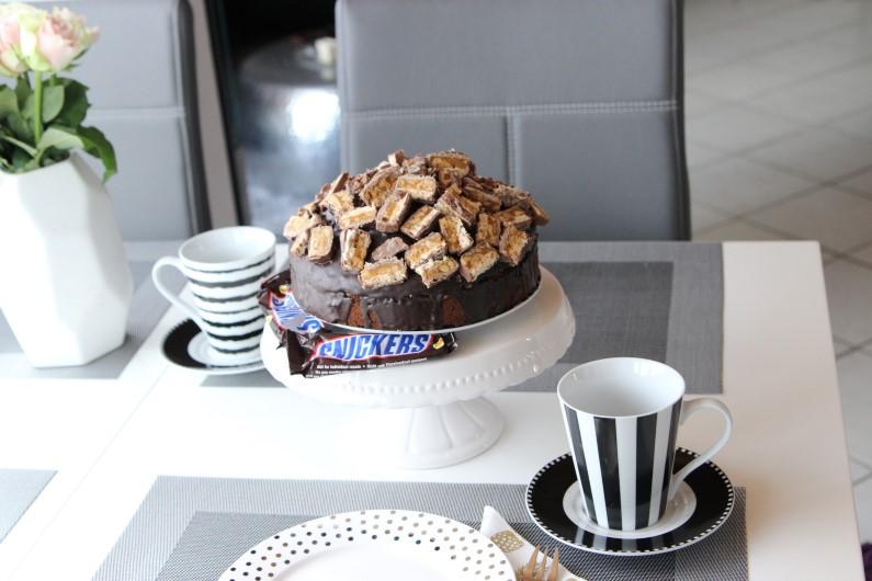 Snickers Schokoladentorte 2