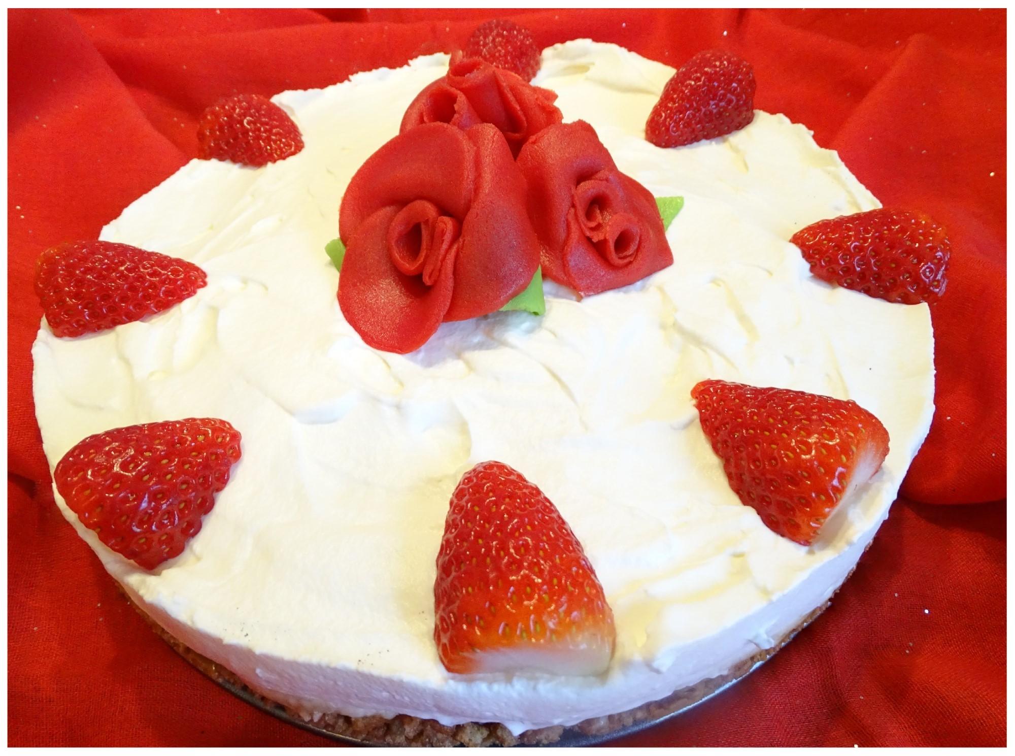 Valentinstag Kuchen fertig