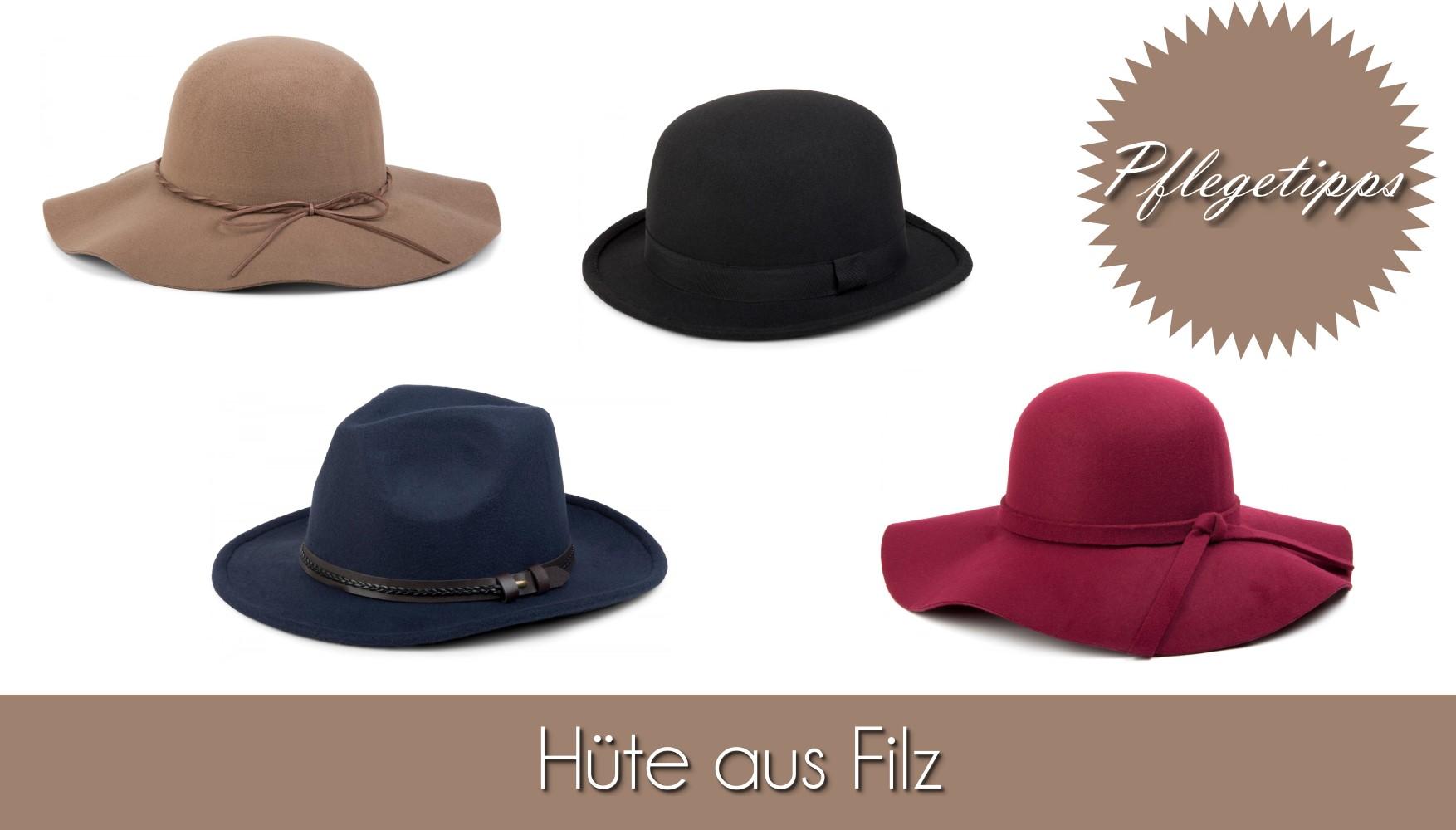 Tipp Pflegetipps Hüte Filzhut