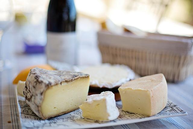 Kulinarische Reise Frankreich Käse