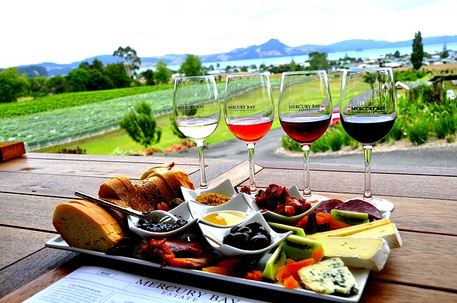 Kulinarische Reise Frankreich Wein