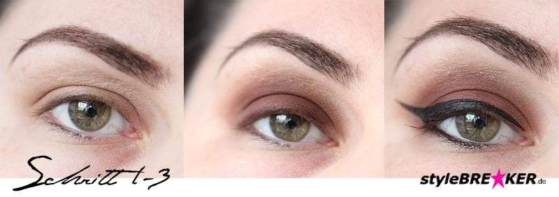 Beauty Inspiration - Make-Up in Brauntönen & Rosegold Step by Step 1