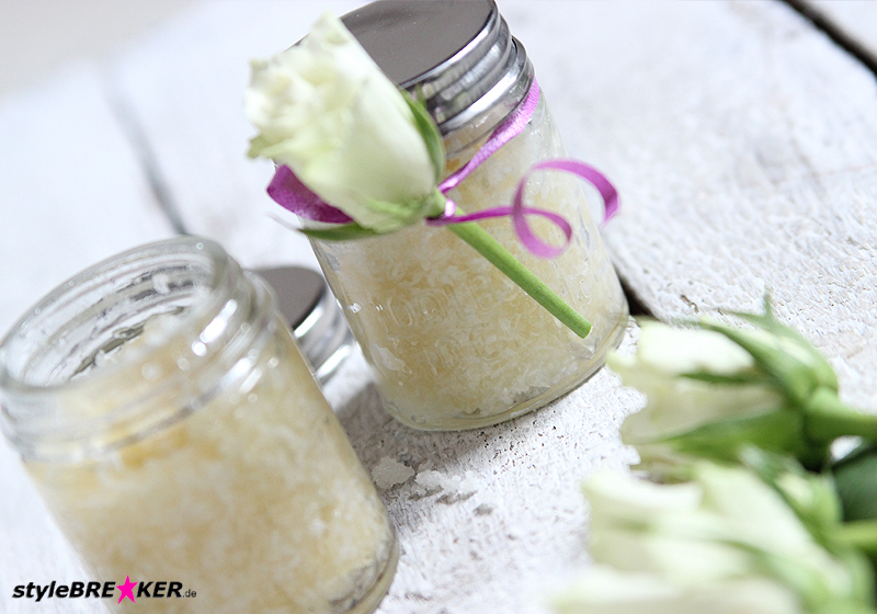 DIY Body Scrub Honey Coconut 1k