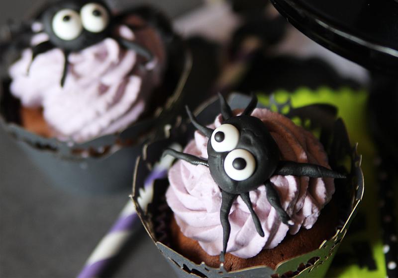 Halloween Spider Cupcakes 1
