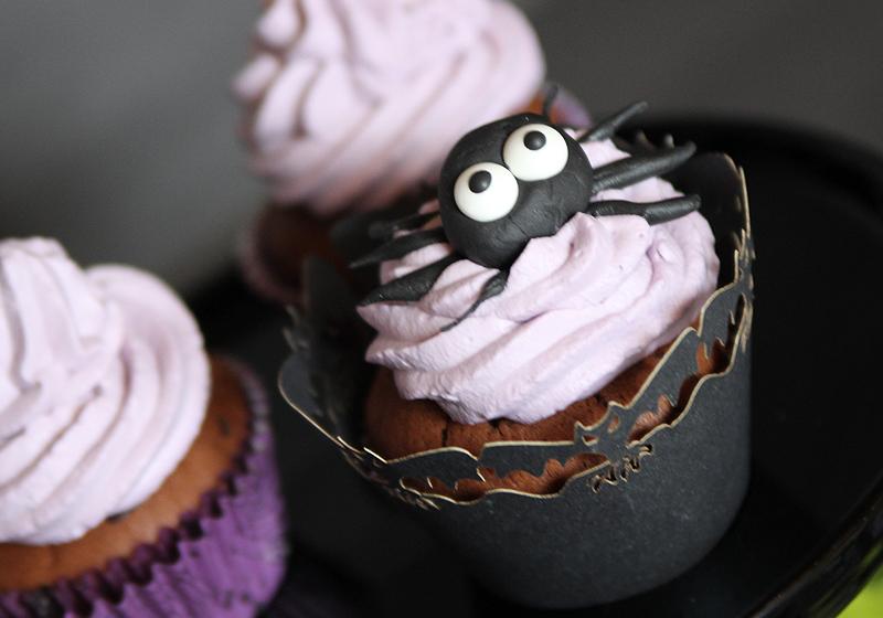 Halloween Spider Cupcakes 3