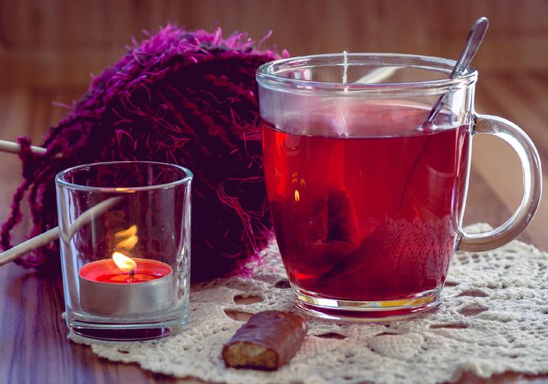 5 Gründe den Herbst zu lieben Tee trinken
