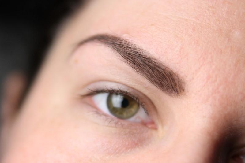 Herbstliches Makeup - Schritt 1