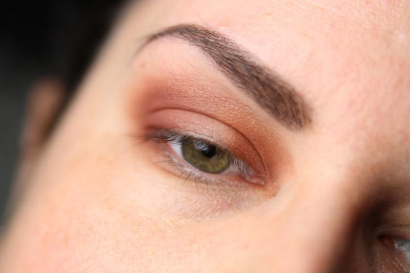 Herbstliches Makeup - Schritt 2
