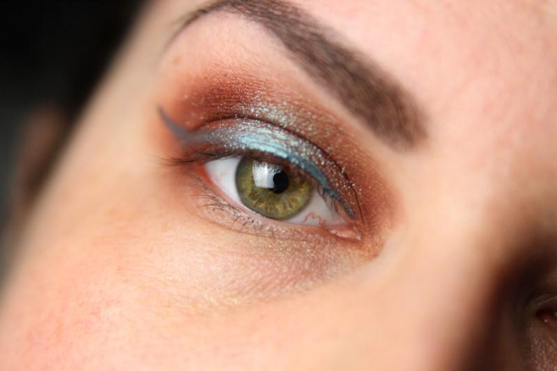 Herbstliches Makeup - Schritt 4