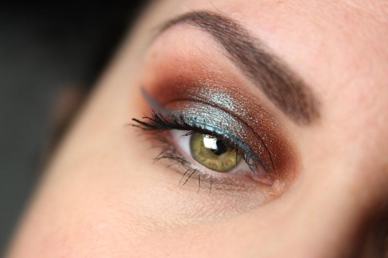 Herbstliches Makeup - Fertig 1