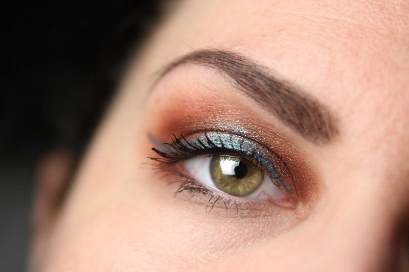 Herbstliches Makeup - Fertig 2