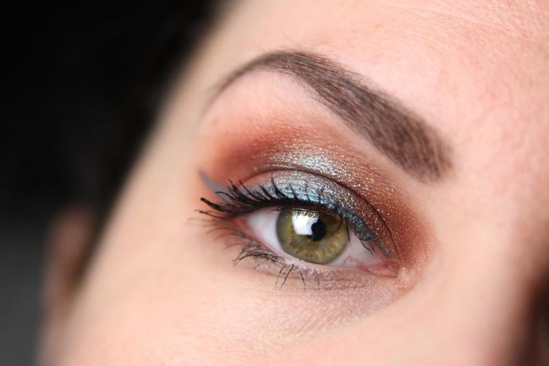 Herbstliches Makeup - Fertig 3