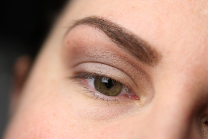 Blue Eyes Makeup - Schritt 2