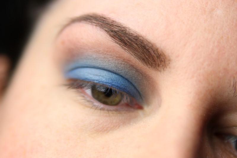 Blue Eyes Makeup - Schritt 4