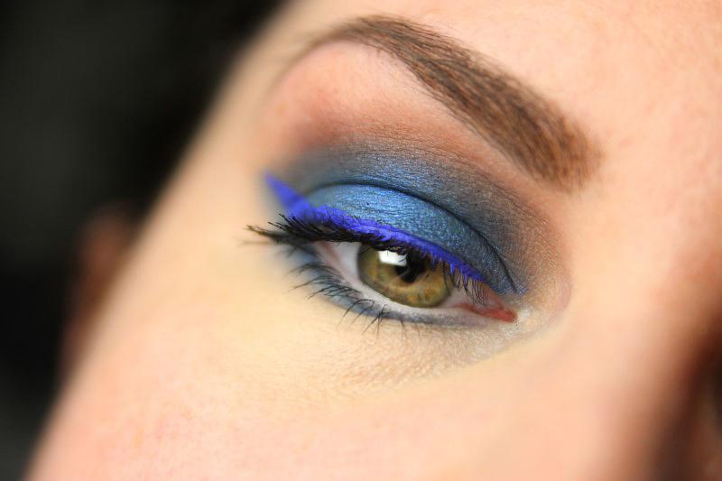 Blue Eyes Makeup - Fertig 1
