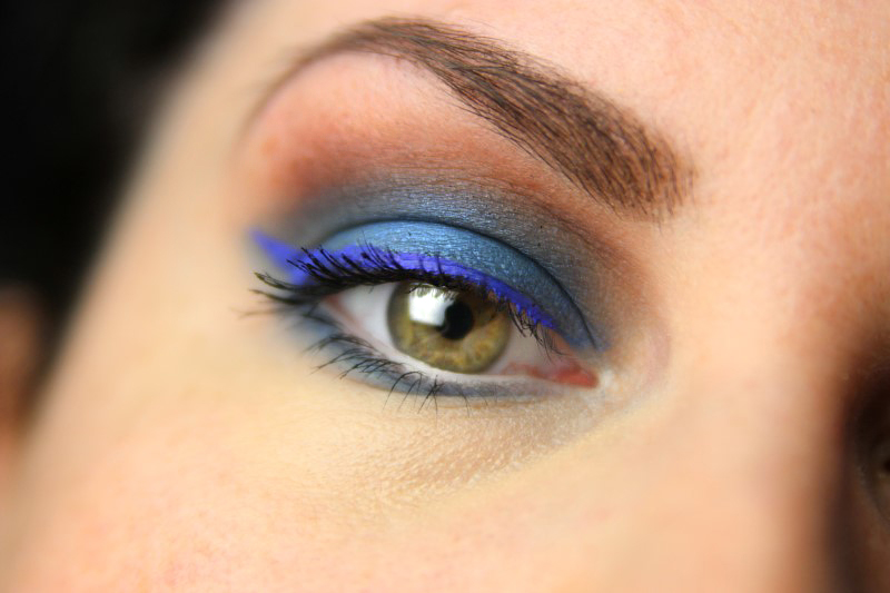 Blue Eyes Makeup - Fertig 2