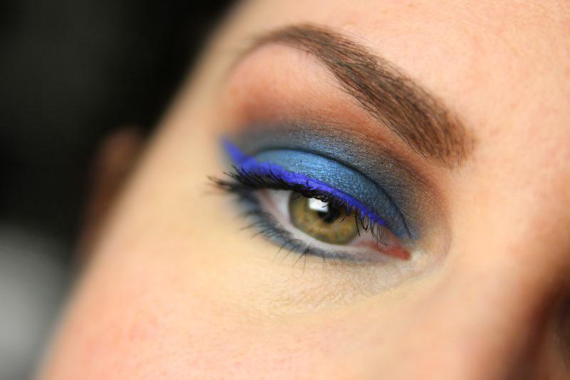 Blue Eyes Makeup - Fertig 3