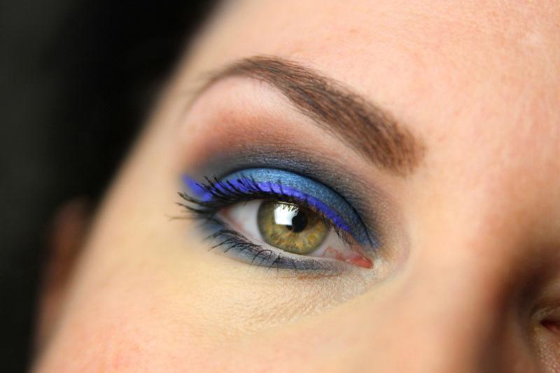 Blue Eyes Makeup - Fertig 4