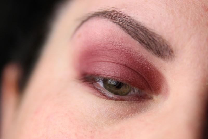 Red Smokey Eyes - Schritt 2