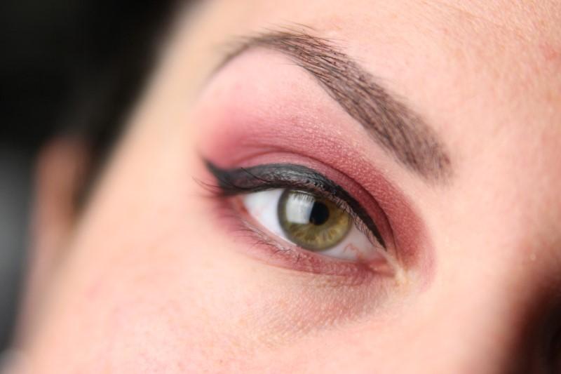 Red Smokey Eyes - Schritt 3
