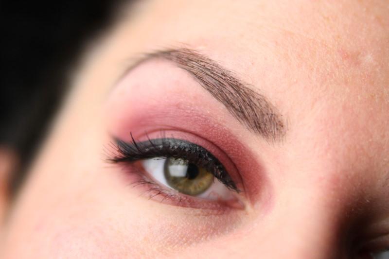 Red Smokey Eyes - Schritt 4
