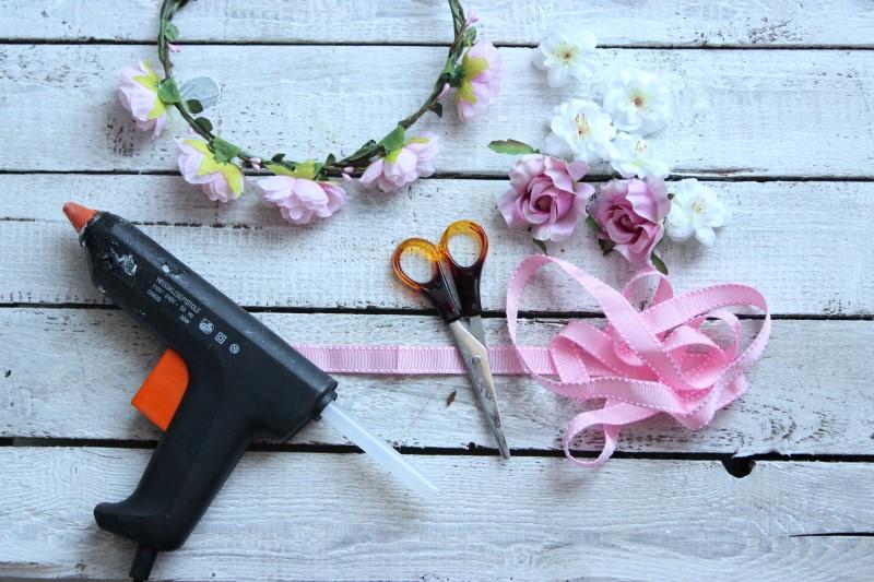 Blumenkranz - Materialien