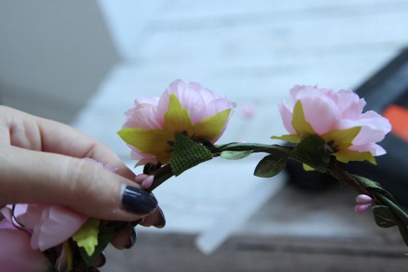 Blumenkranz - Schritt 5