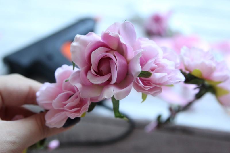 Blumenkranz - Schritt 7