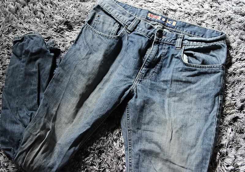Jeansshorts mit Patches - Schritt 1