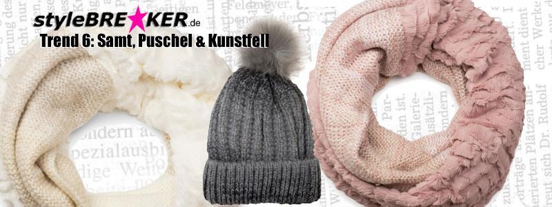 Herbst Winter Trends 2016/2017 Puschel Samt Kunstfell