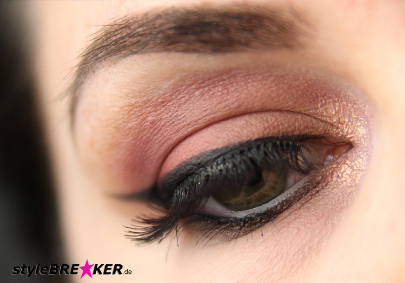 Beauty Inspiration - Make-Up in Brauntönen & Rosegold Accessoires 1f