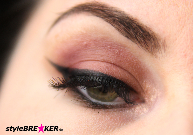 Beauty Inspiration - Make-Up in Brauntönen & Rosegold Accessoires 1h