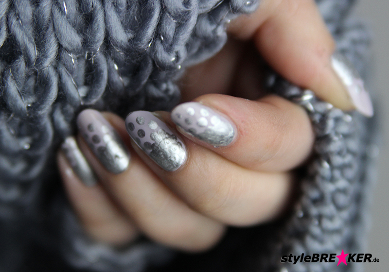 Naildesign Metallic & Matt - Fertig 2