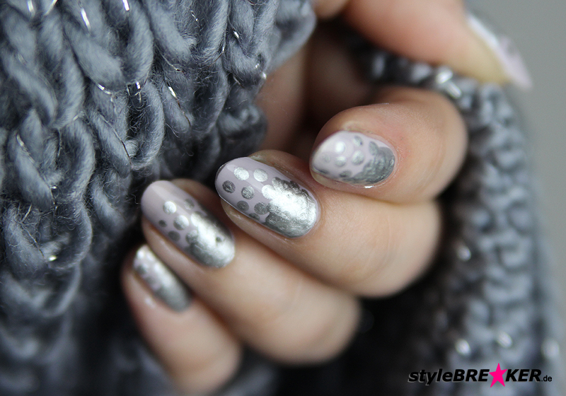 Naildesign Metallic & Matt - Fertig 3
