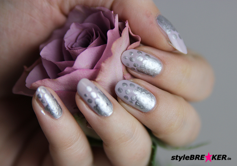 Naildesign Metallic & Matt - Fertig 1