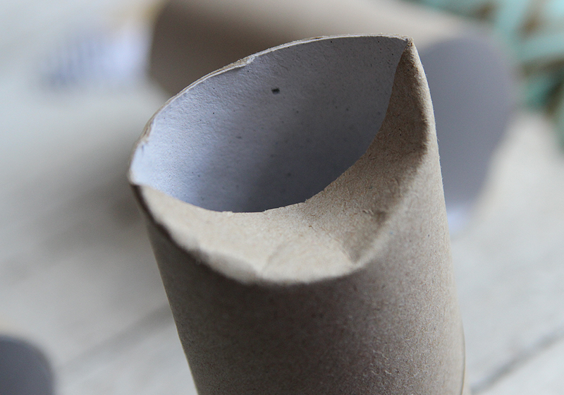 Upcycling Schmuckverpackung - Schritt 3