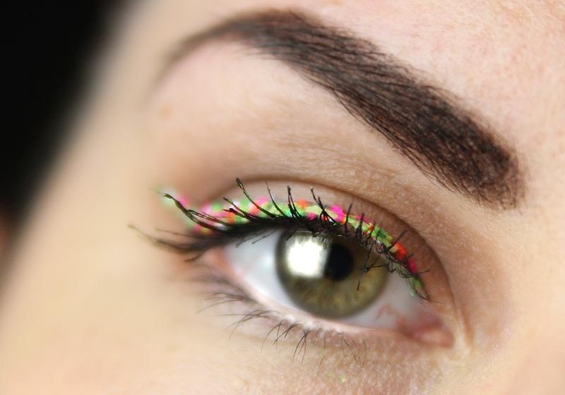 Makeup Holi Look - Fertig
