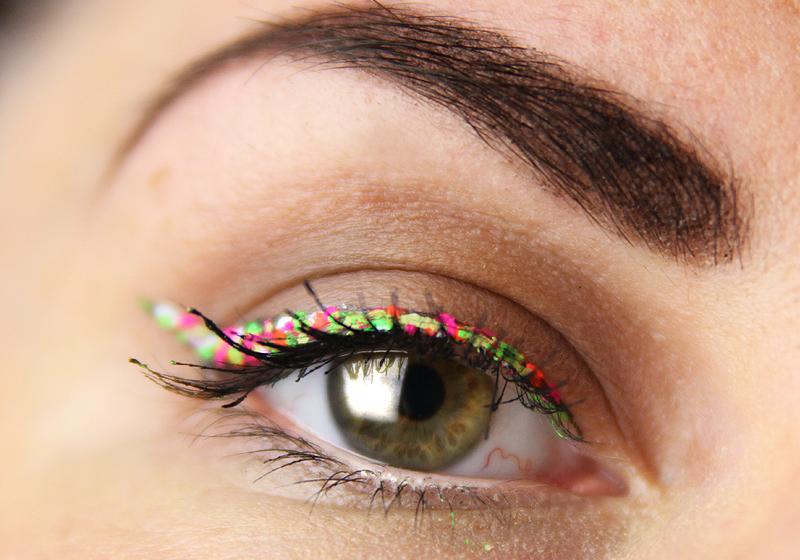 Makeup Holi Look - Schritt 4