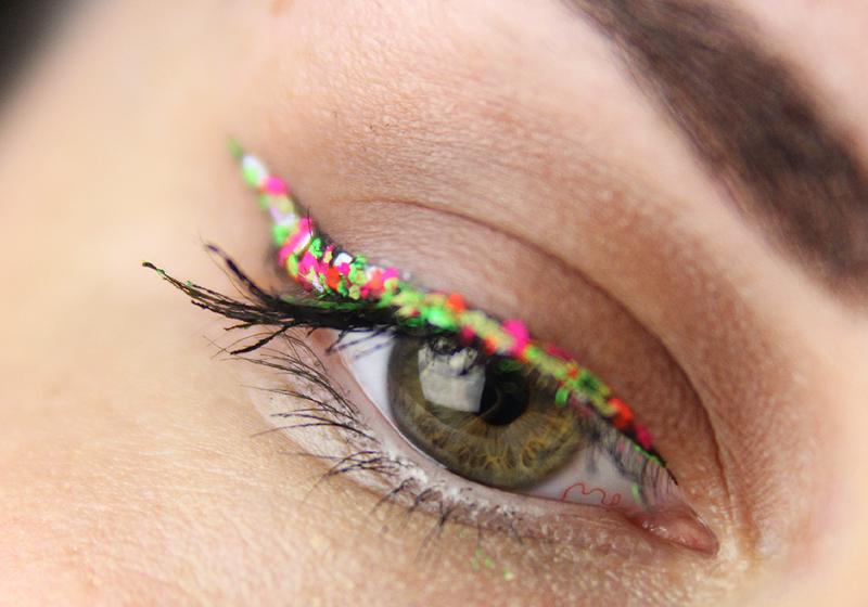Makeup Holi Look - Schritt 5