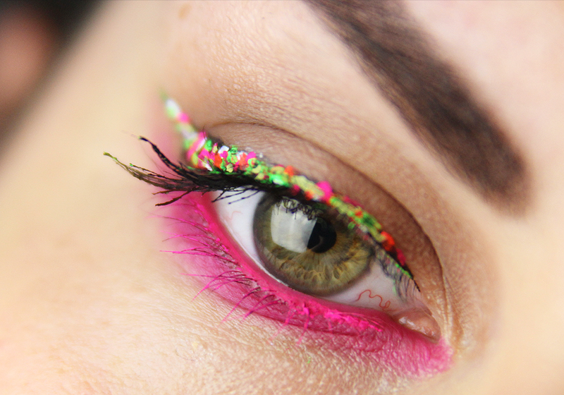 Makeup Holi Look - Fertig 1