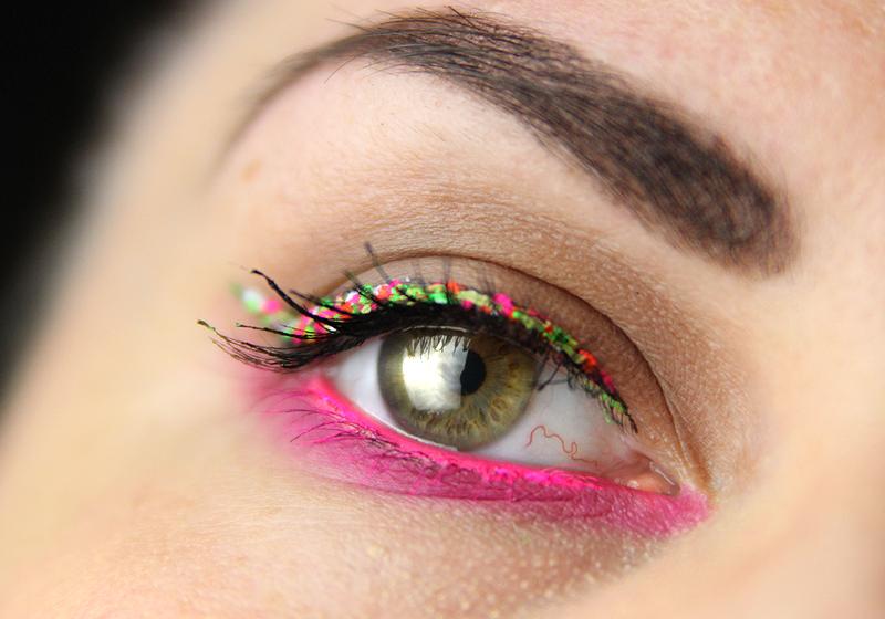 Makeup Holi Look - Fertig 2