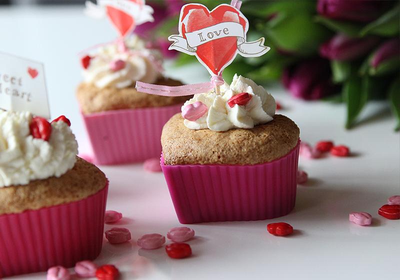 Valentinstags Muffins 1
